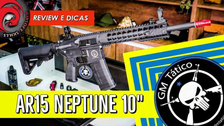 REVUE |  GM TACTICAL |  AIRSOFT |  NEPTUNE ROSSI AR15 KEYMOD 10 POUCES