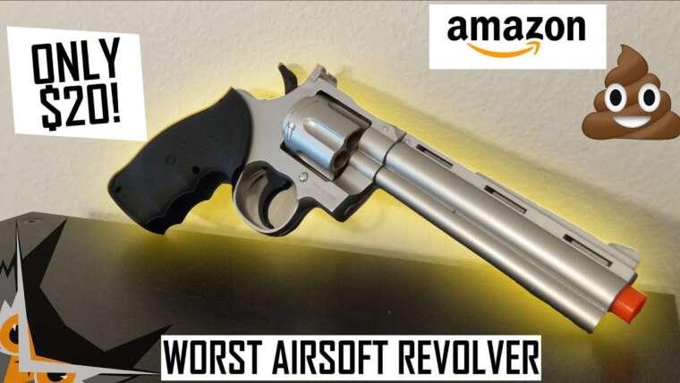 Pire revolver Airsoft à 20 $ |  UKARMS G36B