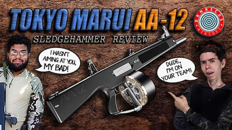 Ce fusil de chasse est-il trop puissant?  – EXAMEN DU FUSIL AUTOMATIQUE COMPLET TOKYO MARUI AA-12