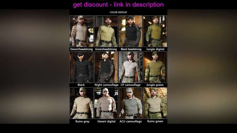 Évaluer Airsoft extérieur Paintball Vêtements Uniforme de tir militaire Combat tactique Camouflage Shir