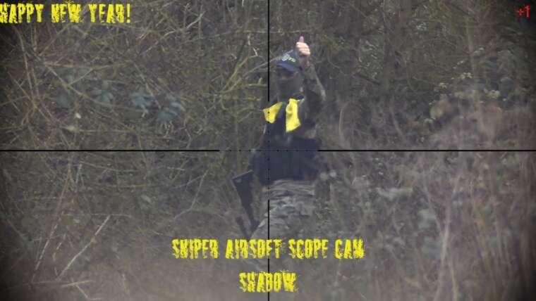 #ScopeCam |  Sniper Airsoft Shadow |  N ° 45