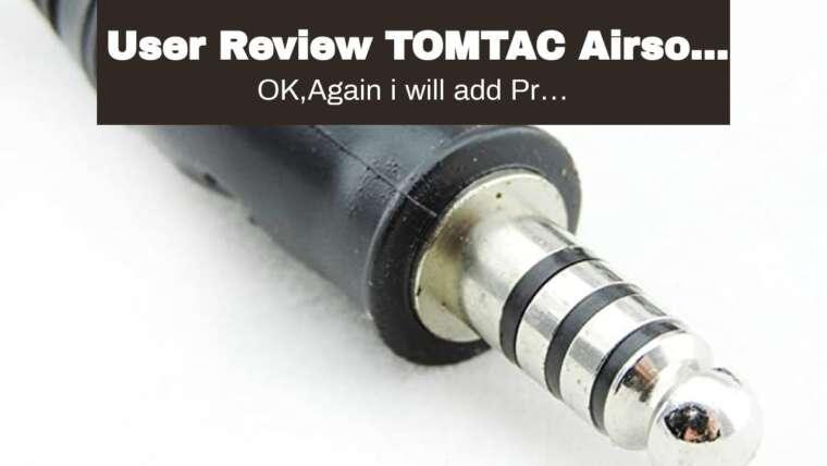 Avis utilisateur TOMTAC Airsoft COMTAC II 2 Headset MIC Boom Radio PELTOR Design OD Green