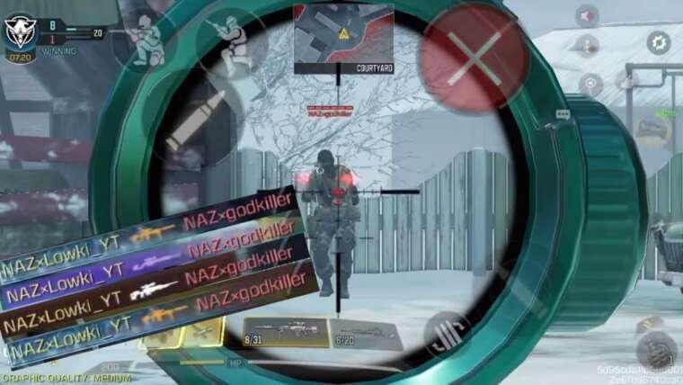 Cette mise en page Sniper m'a rendu invincible !!