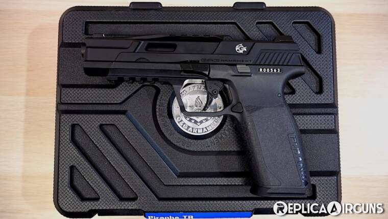 G&G Piranha TR GBB Airsoft Pistol Table Top Review