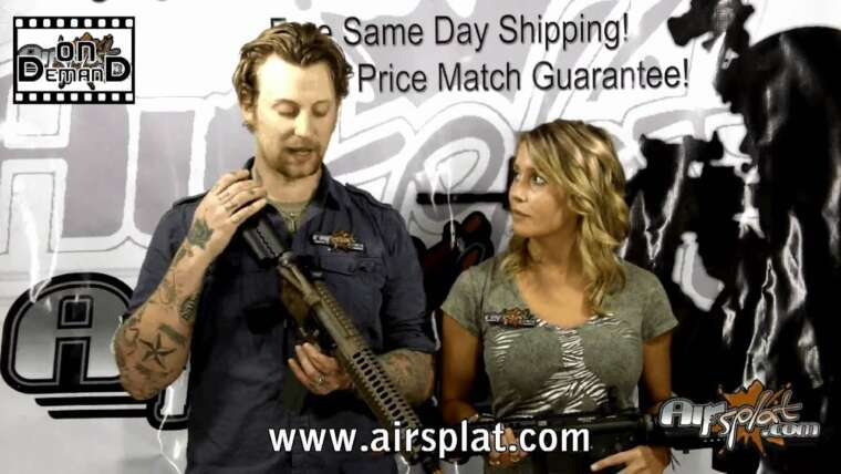 AirSplat OD – Classic Army LWRC M6A2 Airsoft AEG Review Vidéo Ep 29