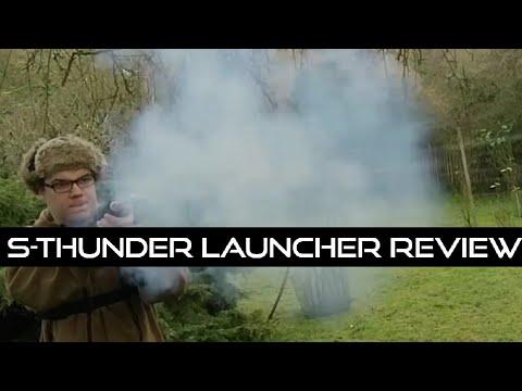 Mini canon à main (examen du pistolet lance-grenades S-Thunder Airsoft 40 mm)