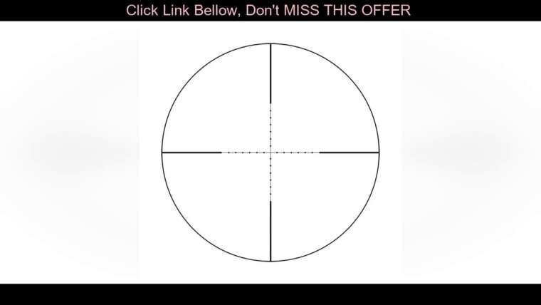 #Review lunette de visée tactique repérage portée de fusil Airsoft pour la chasse optique collimateur pistolet vue 1