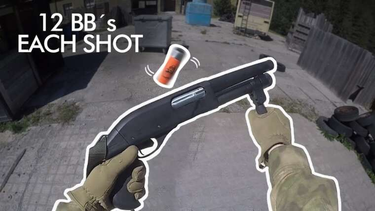 Le fusil à pompe Airsoft le plus réaliste