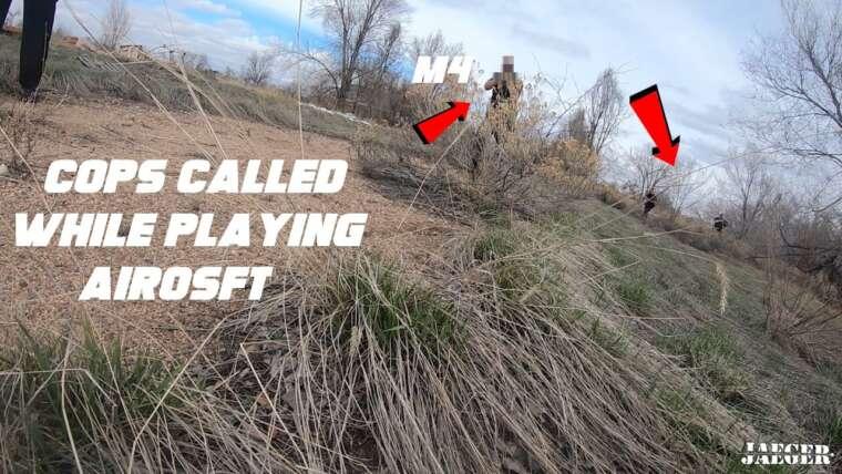 Se faire arrêter en jouant à Airsoft