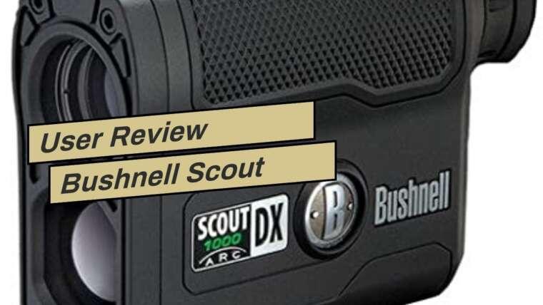 Avis d'utilisateur Télémètre laser Bushnell Scout 1000 ARC