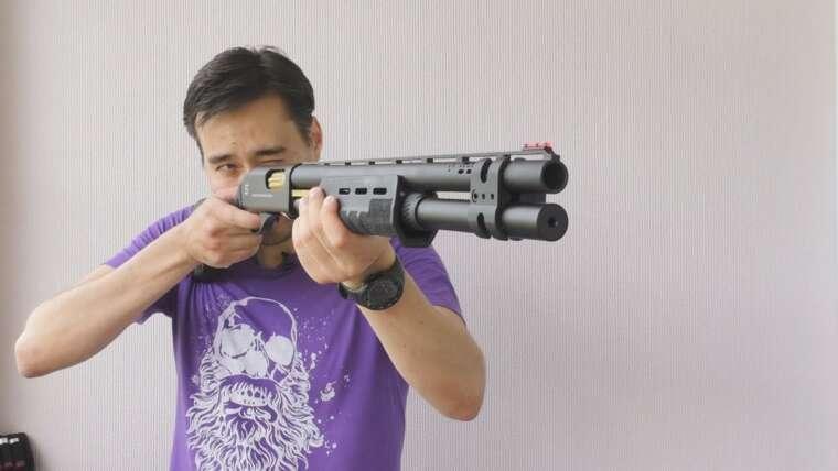 Revue du fusil de chasse APS M870 SAI Deluxe Match Airsoft