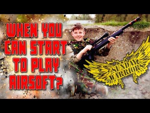Quand pouvez-vous commencer à jouer à l'airsoft?  |  GUNMAN AIRSOFT MIDLANDS
