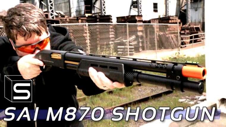 Fusil à pompe Salient Arms M870 Airsoft