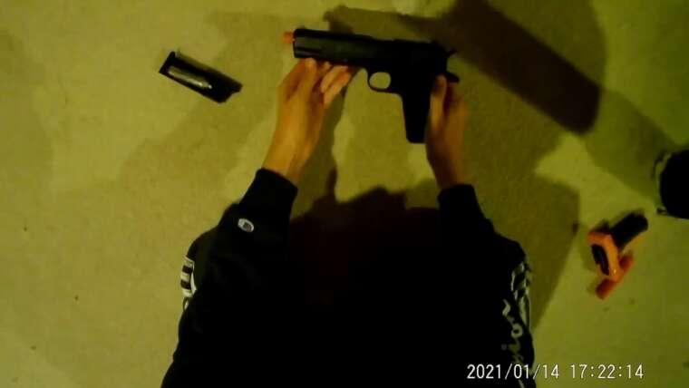 Revue du pistolet Airsoft 1911
