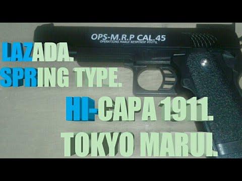 EXAMEN DES AIRSOFT TYPE HI-CAPA SPRING.
