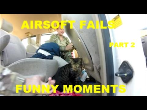 Airsoft échoue et moments amusants |  Partie 2 |  HSA Airsoft