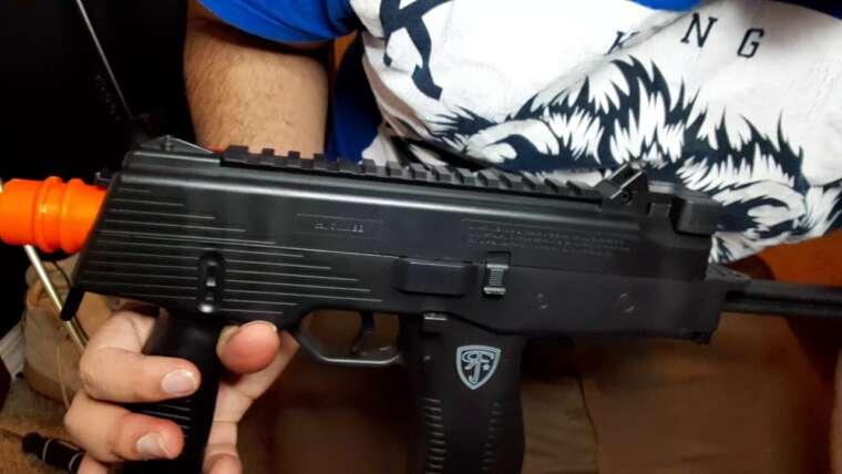 Examen et test de tir du pistolet BB Airsoft