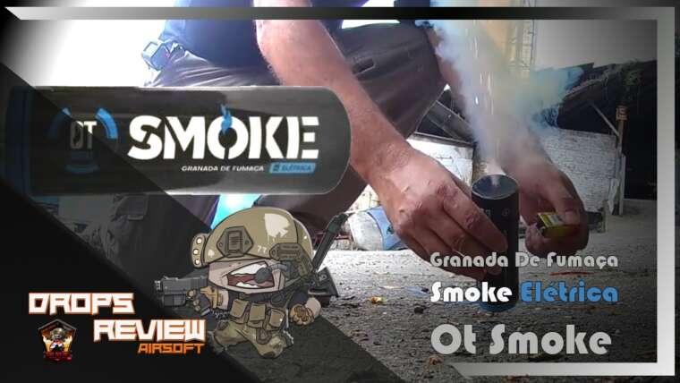 REVUE DROPS – Grenade à fumée électrique – Ot Smoke AIRSOFT |  ONCLE NERF