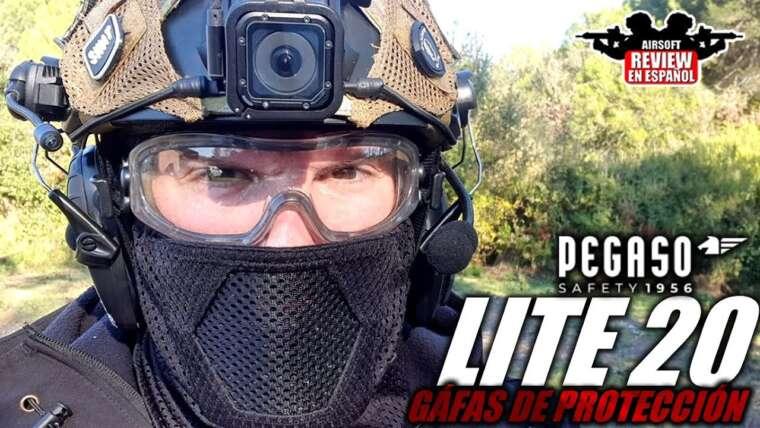 Lite 20 de Pegaso Safety – Lunettes de sécurité 🥽 pour Airsoft |  Revue Airsoft en espagnol
