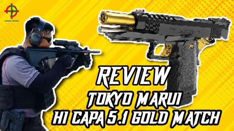 REVUE TOKYO MARUI HI CAPA 5.1 GOLD MATCH