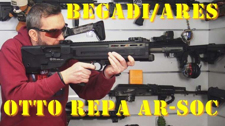 Airsoft – Begadi / Ares Otto Repa AR-SOC [French]