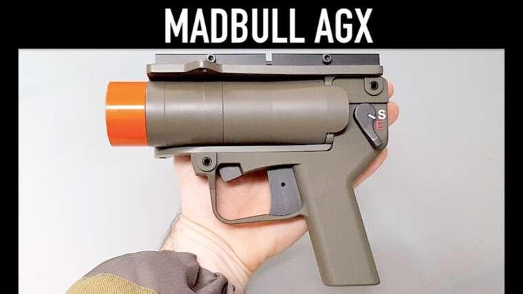 Lance-grenades airsoft MADBULL AGX