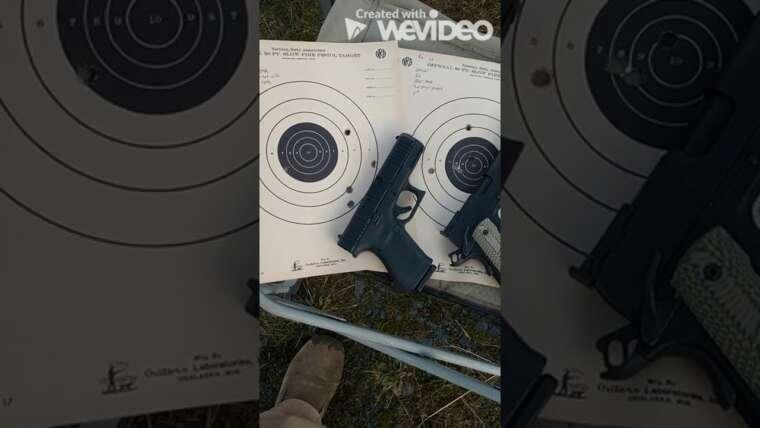 Glock G23 Gen 5 Problèmes de précision de 25 verges résolus!