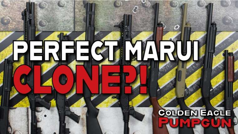J'appelle fusil de chasse !!!  GOLDEN EAGLE Pumpgun Action Softair (REVUE) |  Sniper-as.de