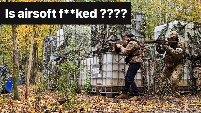 L'airsoft est-il f ** ked ???  Réflexions sur la vidéo airsoft T.Rex Arms …