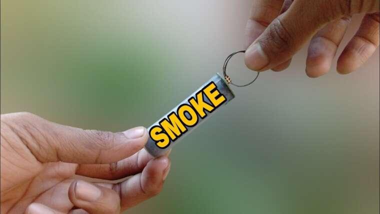 Comment faire de la fumée DIY     Comment faire une bombe à fumée DIY PUBG