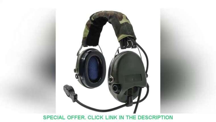 ☑️ 68,39 US $ Cache-oreilles électroniques tactiques Sordin Pickup réduction du bruit Casque Airsoft Review