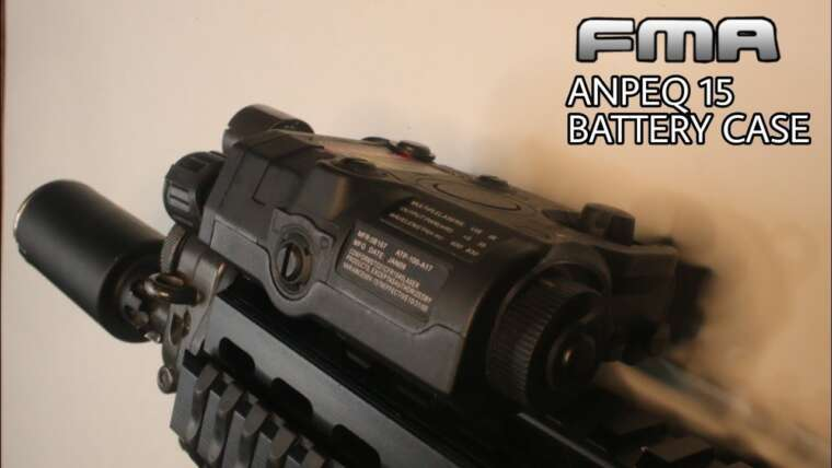Boîtier de batterie FMA ANPEQ 15 |  Revue Airsoft