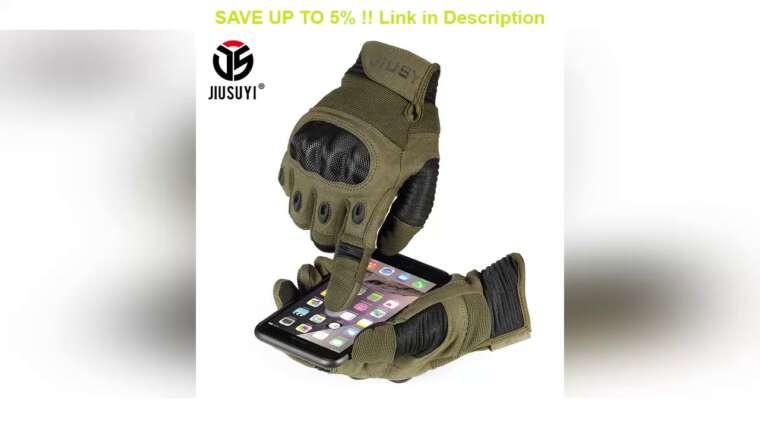 Revue des meilleurs gants tactiques militaires de l'armée à écran tactile Paintball Airsoft tir Combat anti-dérapant