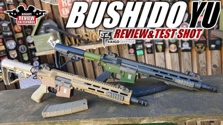M4 Saigo Bushido Yu (Courage) – Critique et test |  Revue Airsoft en espagnol