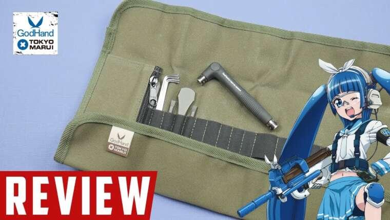 Revue |  Kit d'outils de maintenance Airsoft |  Tokyo Marui et Dieu