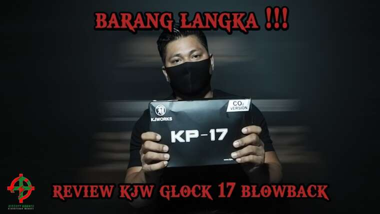 KJW GLOCK 17 BLOWBACK ???  CELA QUI UTILISE DU CO2 LOHH … CLEARING ???