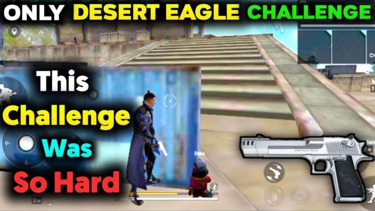 Seul Desert Eagle, aucune autre arme, défi en tir libre