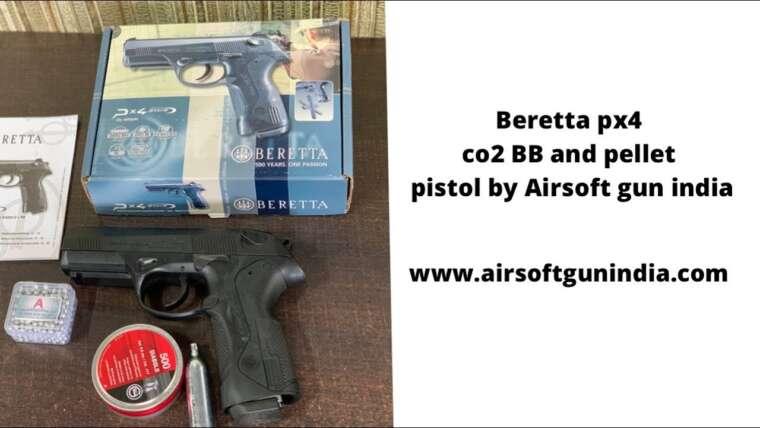 Pistolet à plomb et BB Beretta PX4 Co2 par Airsoft Gun India
