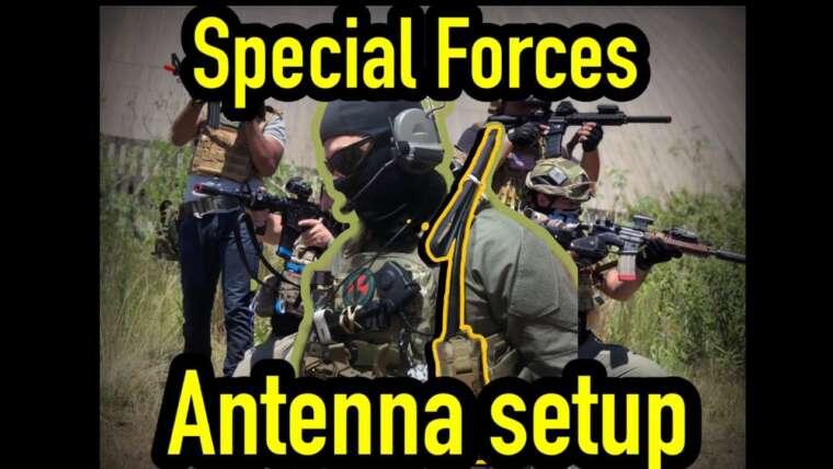 AIRSOFT COMM – Comment configurer le kit de votre antenne comme un vrai gars des forces Spec Ops [review]