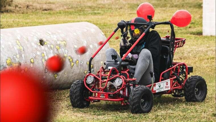 Aller Kart Paintball Battle
