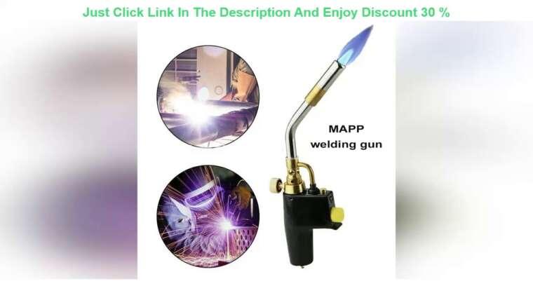 Évaluer nouvelles torches de soudage au gaz propane MAPP briquet à jet de gaz flamme Airsoft brûleur à souder à feu rapide