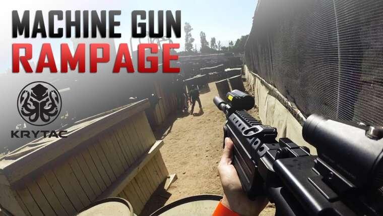 Krytac Light Machine Gun (LMG) Rampage – Support Gunner Tactics – Airsoft GI