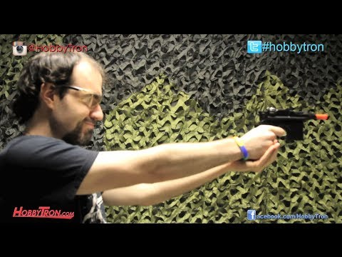 Broomhandle M1932 Starwars Han Solo Spring Airsoft Pistol Review