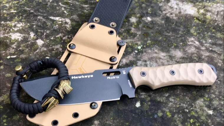 HAWKEYE TACTICAL KNIFE UNBOXING & SHORT REVIEW |  EDC / TACTIQUE / AIRSOFT / ÉQUIPEMENT DE SURVIE PAR HYDRAKNIVES