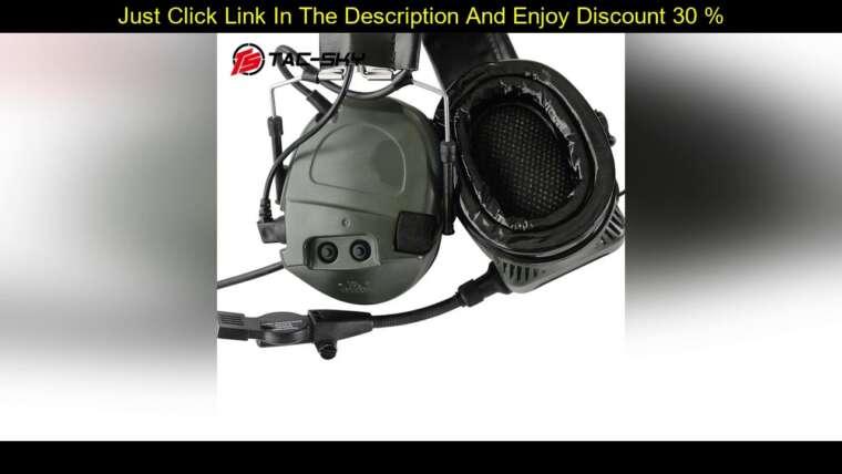 Évaluer Cache-oreilles en silicone TCI LIBERATOR 1 TAC-SKY Airsoft Réduction du bruit Prise de vue tactique M