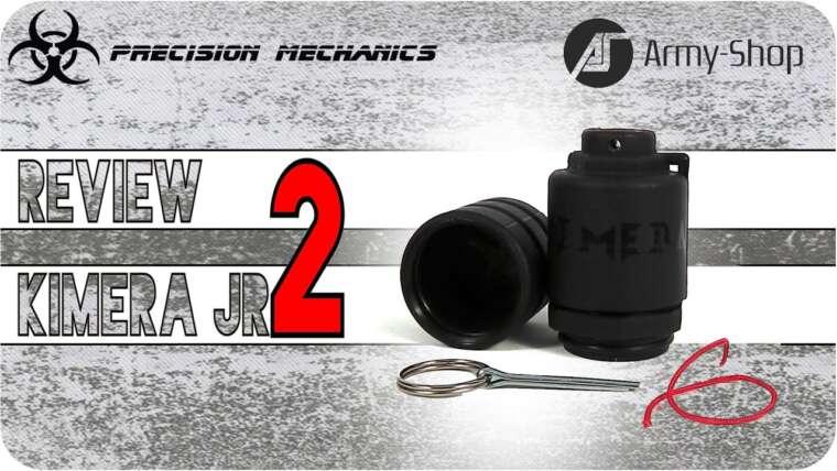Airsoft Review ENG – Kimera JR2 Grenade par Precision Mechanics de army-shop.be – Real Eng Sub