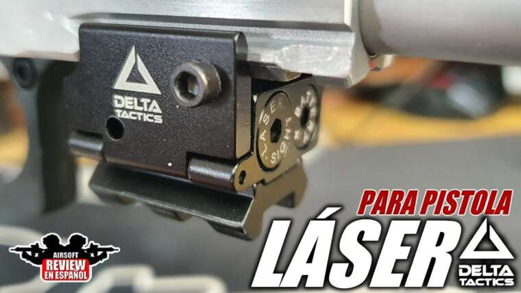 Mini LASER pour pistolet DELTA TACTICS    Revue Airsoft en espagnol