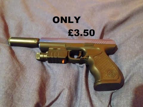 Examen du pistolet à ressort Airsoft le moins cher