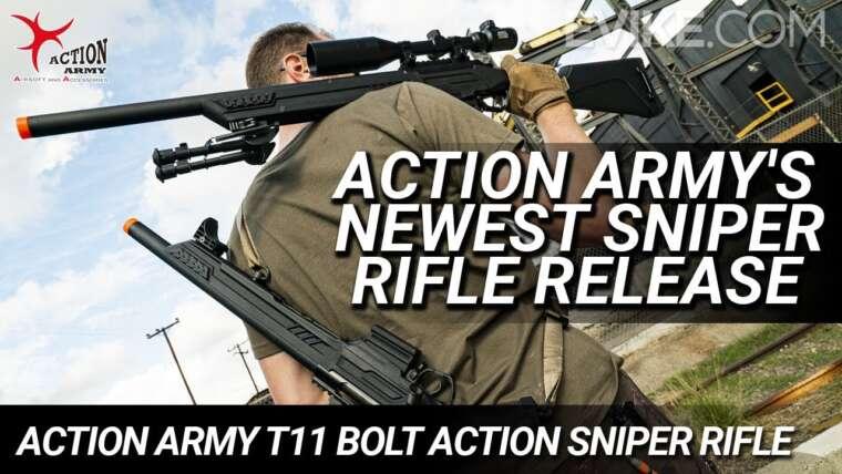 Nouvelle version de fusil de sniper de l'armée d'action  – Fusil de précision Action Army T11 Bolt Action – Critique