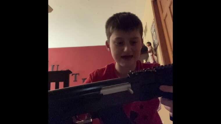 Évaluer Pistolet Lancer Tactical AK47 Airsoft